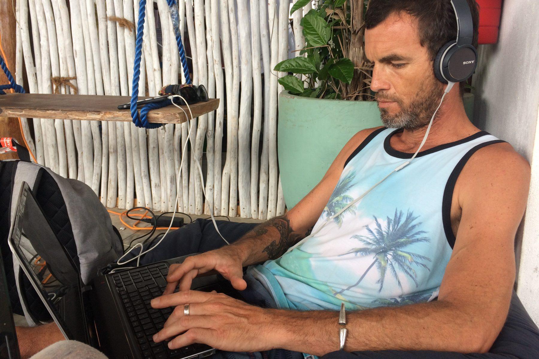 Digital nomad Weligama