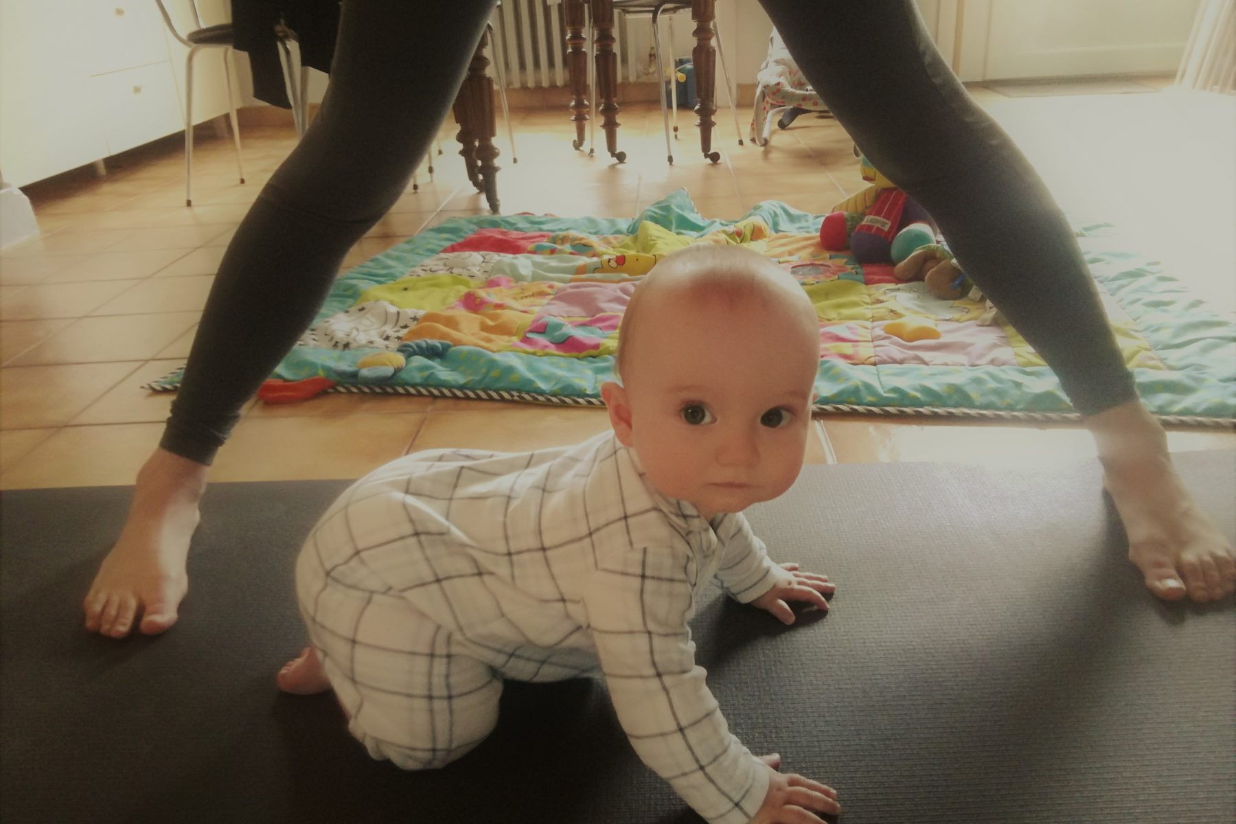yoga baby and ashtanga mama